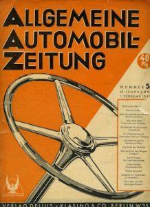 Allgemeine Automobil Zeitung (AAZ) 1941 Heft 5