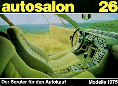 Autosalon in Buchform Nr. 26 1975