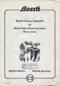 Bosch Elektrisches Zubehör für Zweiräder 1950