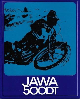 Jawa 500 DT Typ 890/891 ccm Prospekt 1972