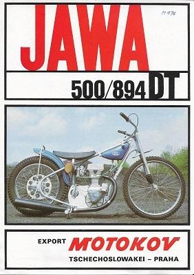 Jawa 500 DT Typ 894 Prospekt 1970er Jahre