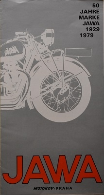 Jawa 50 Jahre Prospekt 1979
