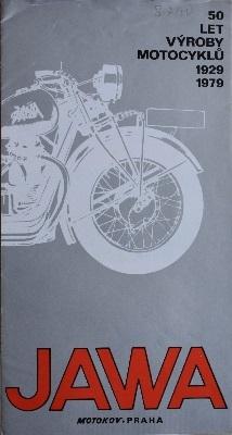 Jawa 50 Jahre Prospekt 1979 cz