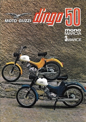 Moto Guzzi Dingo 50 Prospekt ca. 1970