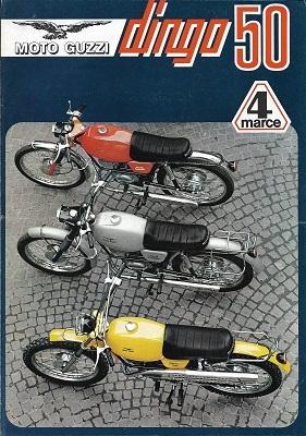 Moto Guzzi Dingo 50 Prospekt 1970er Jahre