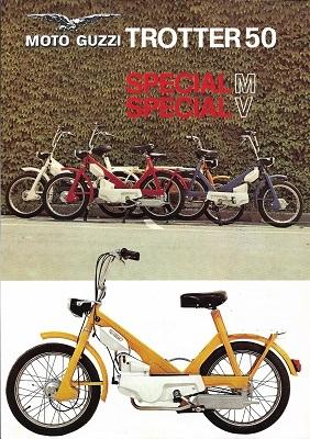 Moto Guzzi Trotter 50 Prospekt ca. 1970