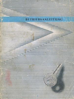 Citroen ID 19 Bedienungsanleitung 5.1959