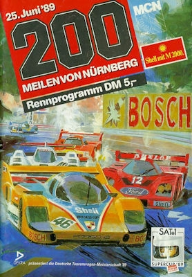 Programm Norisring 25.6.1989