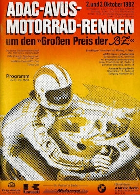 Programm AVUS 2./3.10.1982