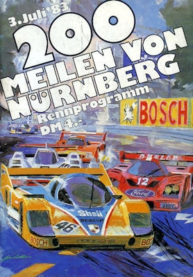 Programm Norisring 3.7.1983