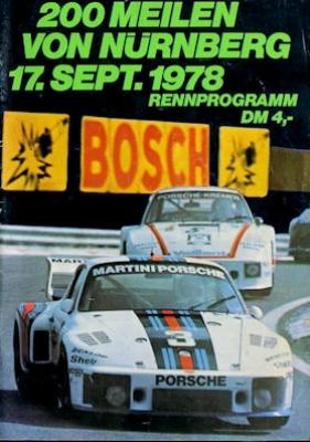 Programm Norisring 17.9.1978