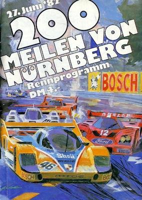 Programm Norisring 27.6.1982