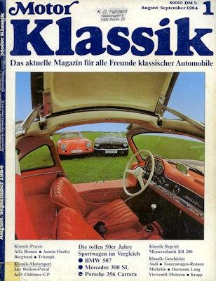 Motor Klassik Heft 1 1984