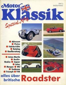 Motor Klassik Spezial No. 6 Britische Roaster ca. 1990