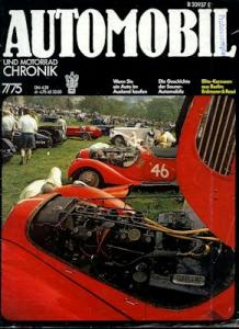 Automobil und Motorrad Chronik 1975 Heft 7
