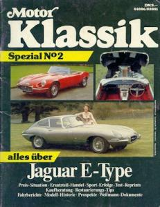 Motor Klassik Spezial No. 2 Jaguar E Type ca. 1988