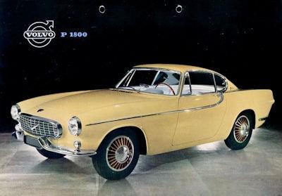 Volvo P 1800 Prospekt 8.1960 e