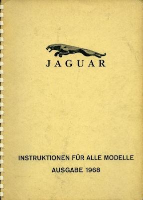 Jaguar Instruktionen für alle Modelle 1968