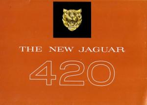 Jaguar 420 Prospekt 1966 e