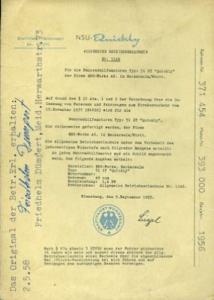 NSU Quickly Betriebserlaubnis 1956