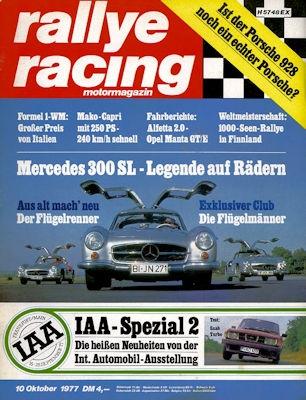 Rallye Racing 1977 Heft 10