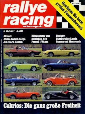 Rallye Racing 1977 Heft 5