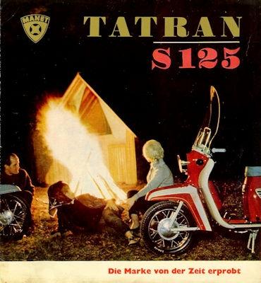 Tatran Roller S 125 Prospekt ca. 1965
