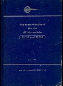 MZ ES 125 150 Reparaturanleitung 1966