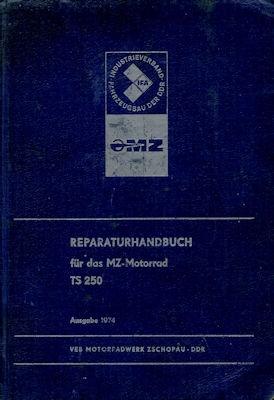 MZ TS 250 Reparaturanleitung 1974