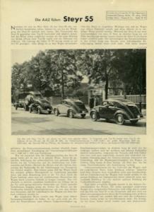 Steyr 55 Test 1938