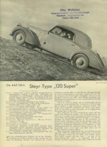Steyr 120 Super Test 1935