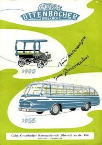Ottenbacher Bus Prospekt 1955