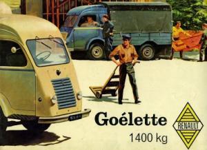 Renault Goélette Prospekt ca. 1960