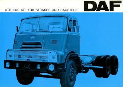 DAF ATE 2400 DP Prospekt 2.1967