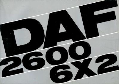 DAF 2600 6x2 Prospekt 6.1967