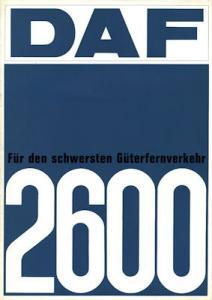DAF 2600 Prospekt 2.1968