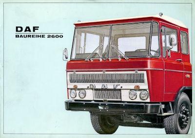 DAF 2600 Prospekt 12.1966