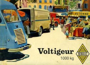 Renault Voltigeur Prospekt ca. 1960