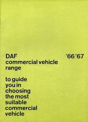 DAF Lkw Programm 1966/67 e