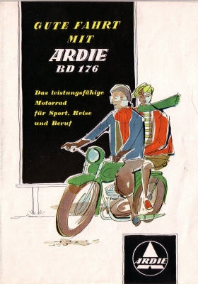 Ardie BD 176 Prospekt 1954