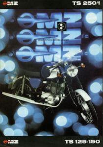 MZ TS 125 150 250/1 Prospekt 1978