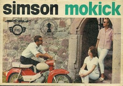 Simson Mokick Star SR 4-2 Prospekt 1965