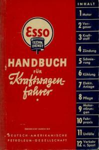 ESSO Handbuch für Kraftwagenfahrer 1938