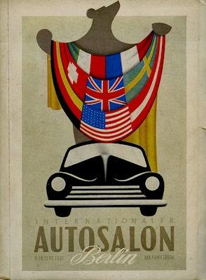 Internationaler Autosalon Berlin 6.-16.9.1951 Katalog