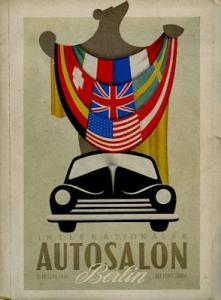 Internationaler Autosalon Berlin 6.-16.9.1951 Katalog