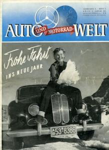 Auto und Motorrad-Welt 1954 Heft 1