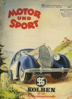 Motor & Sport 1942 Heft 9