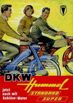 DKW Hummel Standard und Standard Super Prospekt 1960