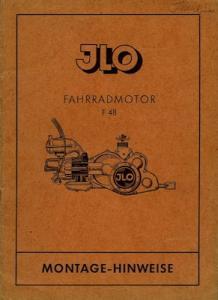 Ilo Motor F 48 Montage-Hinweise ca. 1949