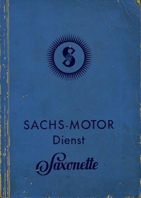 Sachs Saxonette Reparaturanleitung 3.1939